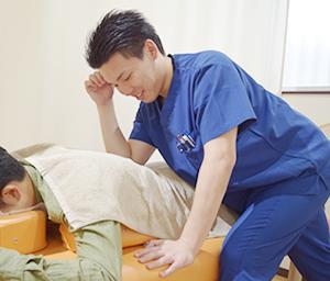 腰部捻挫治療